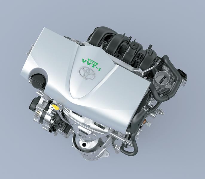 động cơ xe Toyota Vios 2020