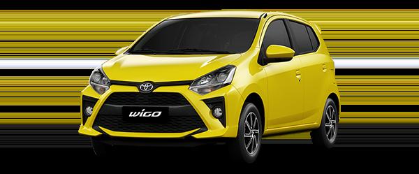 xe toyota wigo 2020 vàng