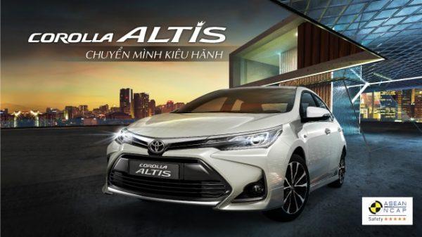 giá xe altis mới 2020 sắp ra mắt